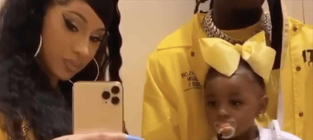 Cardi B: sa fille Kulture tente de la maquiller et c'est hilarant !