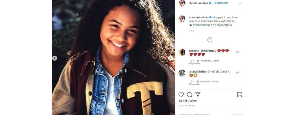 Christina Milian: sa fille Violet Madison lui ressemble énormément !
