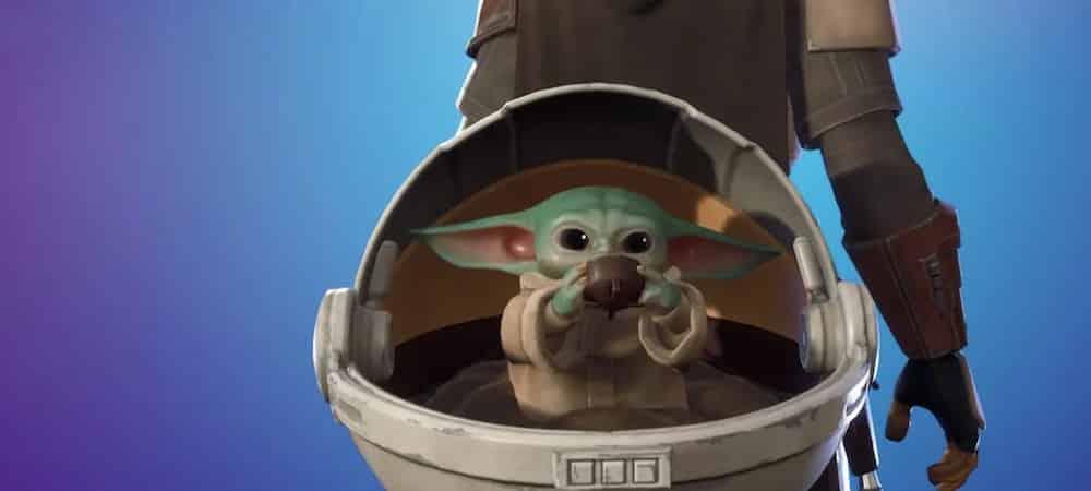 Fortnite: les fans déçus par un nouvel accessoire de dos Baby Yoda !