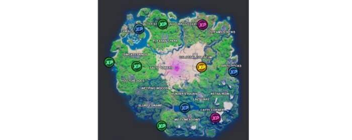 Fortnite: où trouver les pièces XP sur la carte de la Battle Royale ?