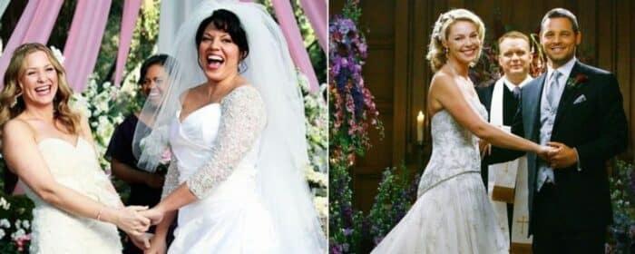 Grey's Anatomy ces mariages qui ont marqué à jamais les épisodes !