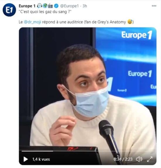 Grey's Anatomy: cet examen de la série expliqué à la radio française !