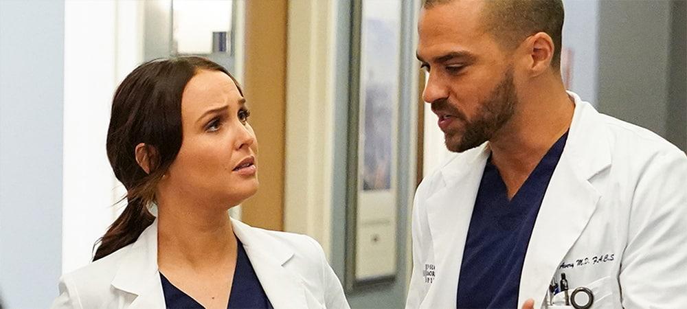 Grey's Anatomy: Jo Wilson prête à aller plus loin avec Jackson Avery !