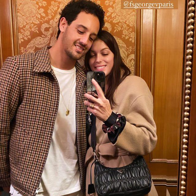 Iris Mittenaere très classe aux côtés de son chéri Diego sur Instagram !