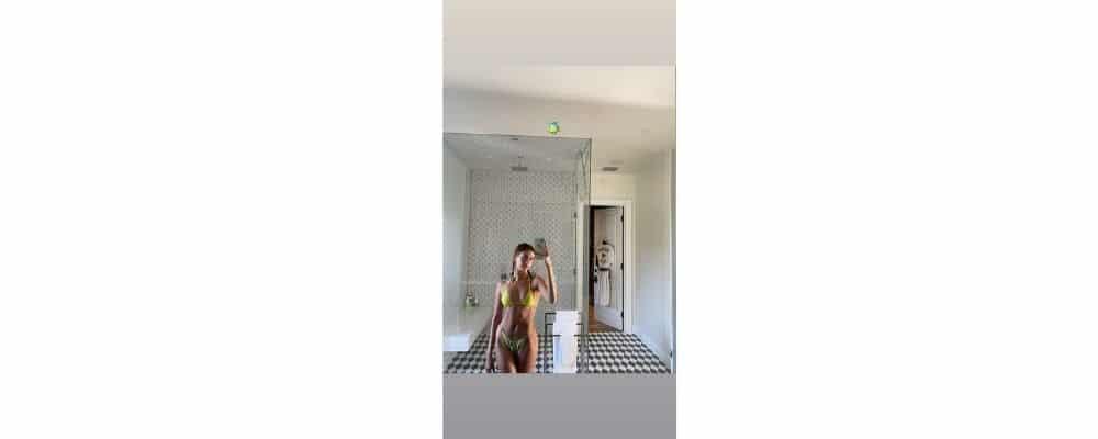 Justin Bieber: Hailey Baldwin sexy en bikini jaune !