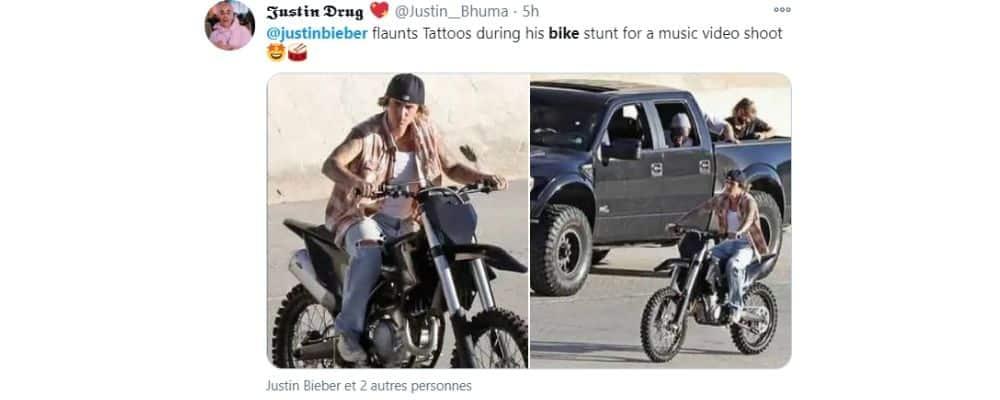 Justin Bieber se la joue bad boy à vélo à Los Angeles !