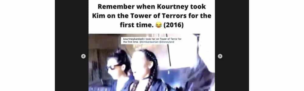 Kim Kardashian: ce moment très gênant avec Kourtney !