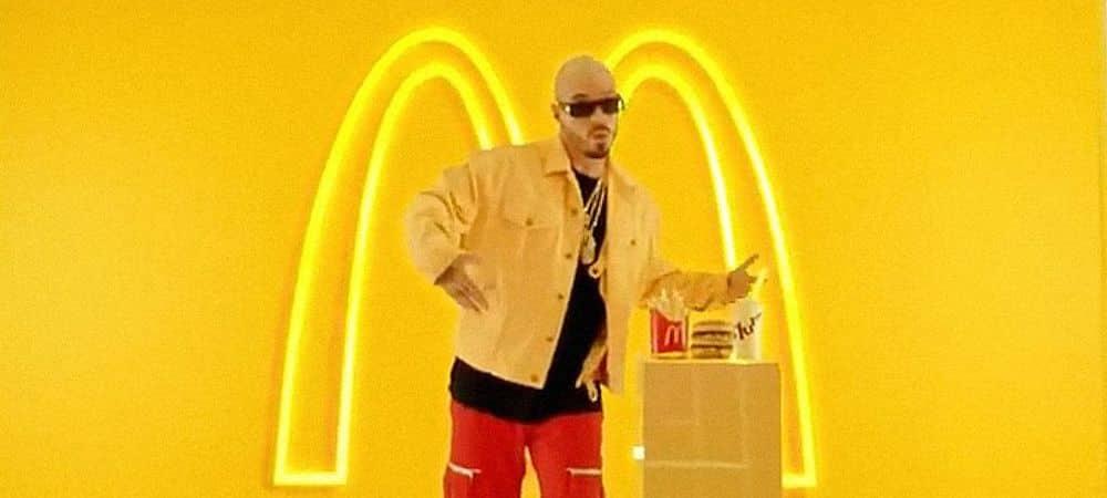 McDonald's- leur collaboration avec J Balvin's Merch a été annulée 1000