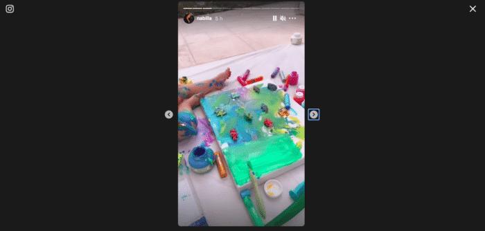 Nabilla: son fils Milann est déjà un vrai artiste peintre
