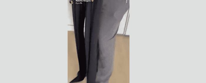 Nabilla Thomas Vergara se moque d'un de ses pantalons insolites 11012021-