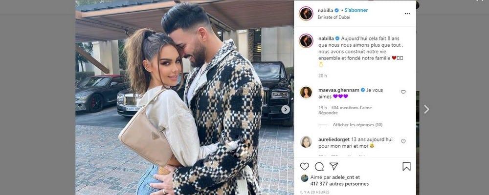 Nabilla très émue pour se livrer sur sa relation avec Thomas Vergara !
