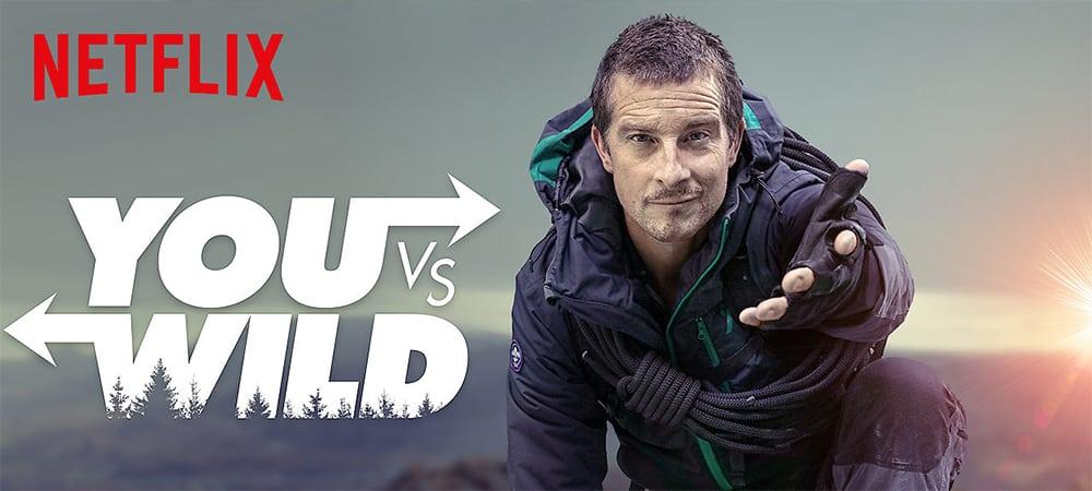 Netflix dévoile la bande-annonce du film interactif «You vs Wild» !