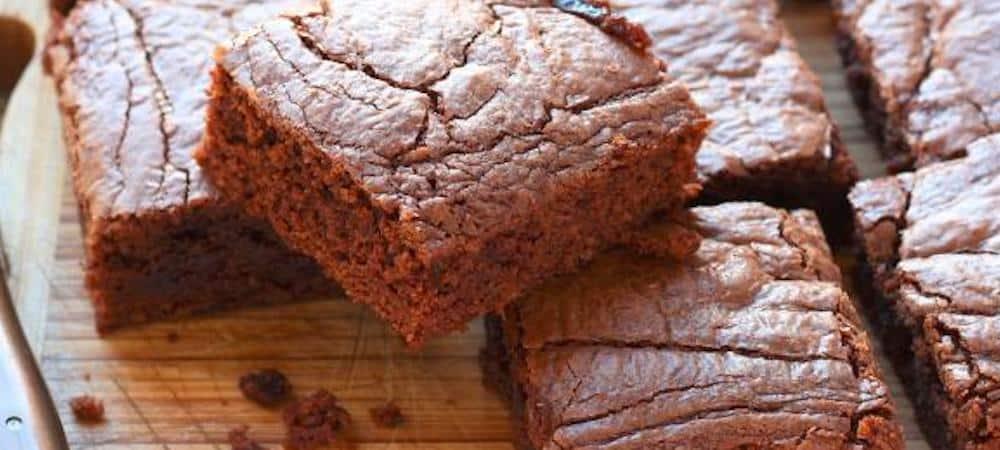 Nutella: de délicieux brownies à goûter sans culpabiliser !