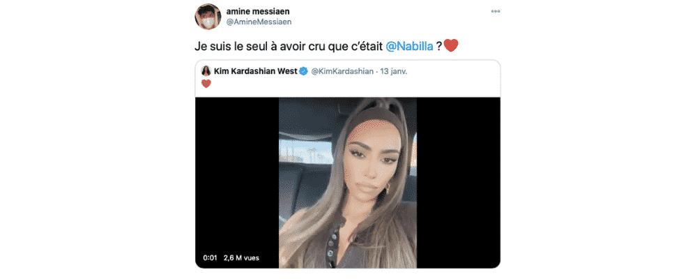 Nabilla: ses fans réussissent à la confondre avec Kim Kardashian !
