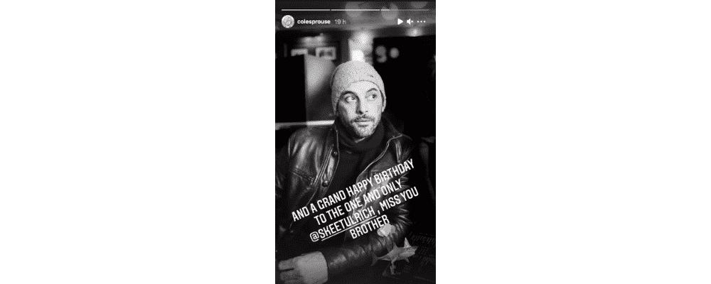 Cole Sprouse fête l'anniversaire de sa co-star Skeet Ulrich de Riverdale !