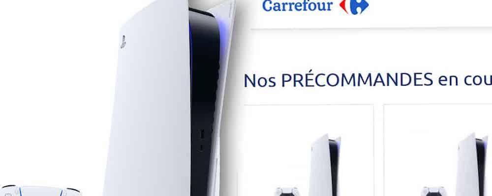 PS5 de nouveau disponible en France dès la semaine prochaine !