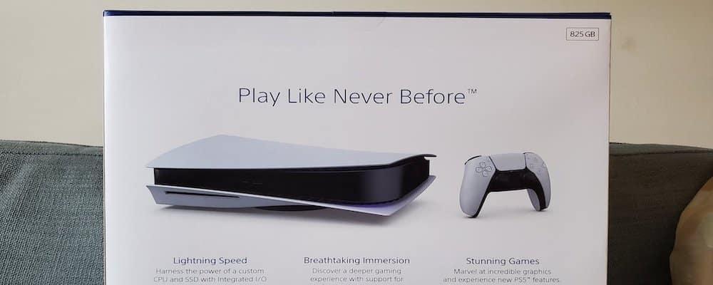 PS5: des boîtes de la console en vente pour des milliers de dollars !