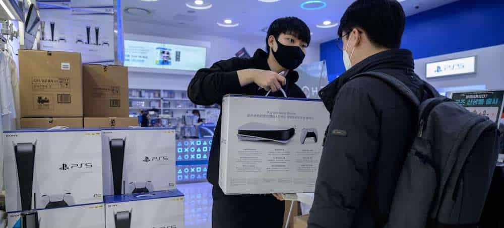 PS5: un magasin japonais pris d'assaut après avoir reçu du stock !