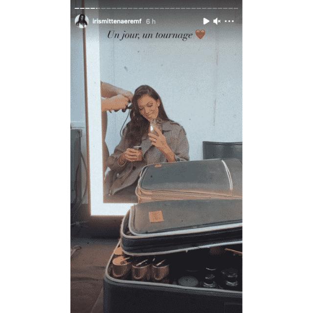 Iris Mittenaere ravissante pour un tournage sur Instagram !