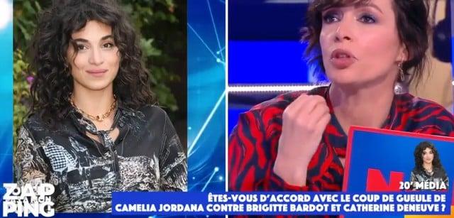 TPMP: Géraldine Maillet critique violemment Camélia Jordana de raciste !