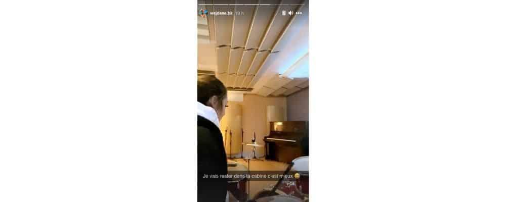 Wejdene se met à la batterie et dévoile ses talents sur Instagram !