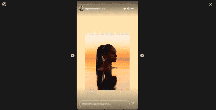 Agathe Auproux complètement fan d'Alicia Keys sur Instagram !