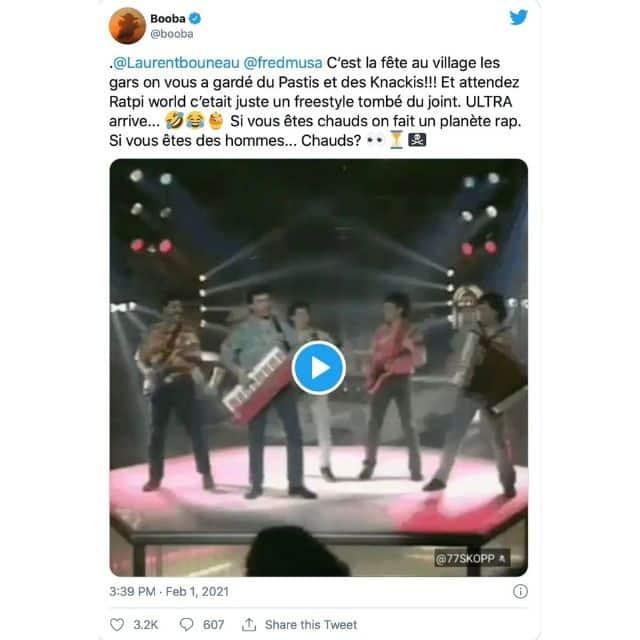 Booba provoque Laurent Bouneau après le succès de Ratpi World !