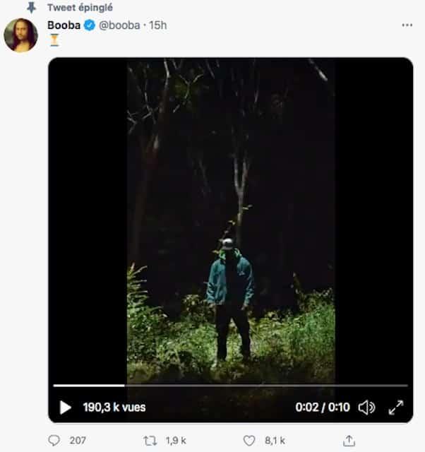 Booba tease la sortie prochaine d'un clip très sombre pour