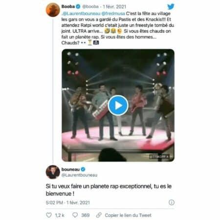 Booba: ses fans euphoriques face à son retour dans Planète Rap !