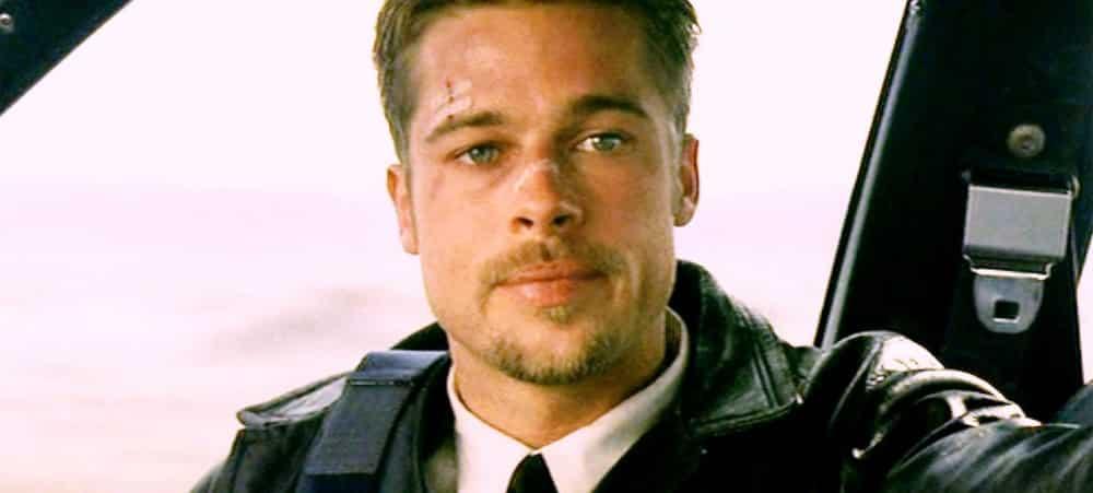 Brad Pitt gravement blessé aux tendons lors du tournage du film Se7en !