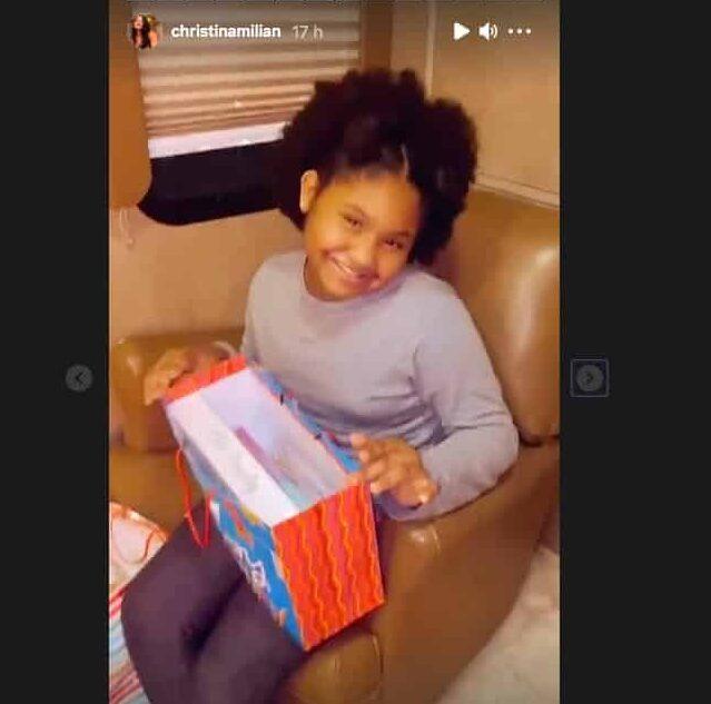 Christina Milian: sa fille Violet gâtée pour son anniversaire !