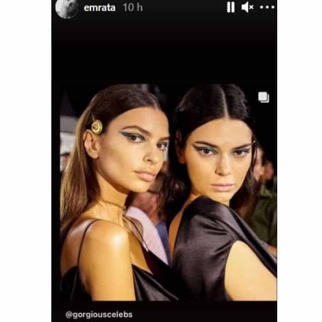 Emily Ratajkowski nostalgique d'une soirée avec Kendall Jenner !