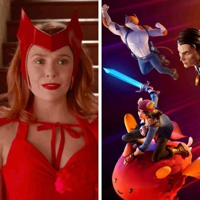 Fortnite: bientôt l'arrivée des skins de Wanda et Vision de Avengers ?