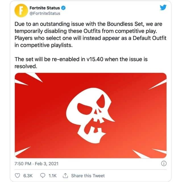 Fortnite: Epic Games obligé de se séparer du skin de super-héros !