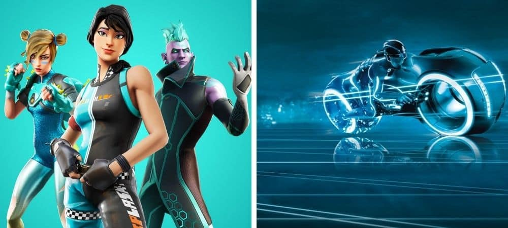 Fortnite et Tron leur collaboration ira plus loin qu'un simple skin ?