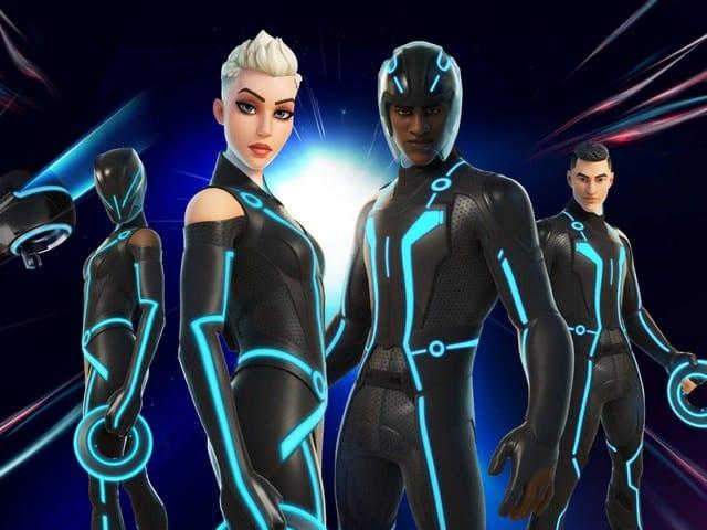 Fortnite fait un nouveau crossover avec le film Tron de Disney !