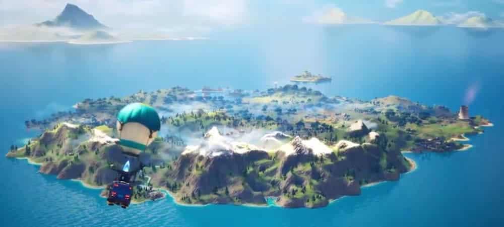 Fortnite: un fan du jeu refait la map façon Pokemon Emeraude !