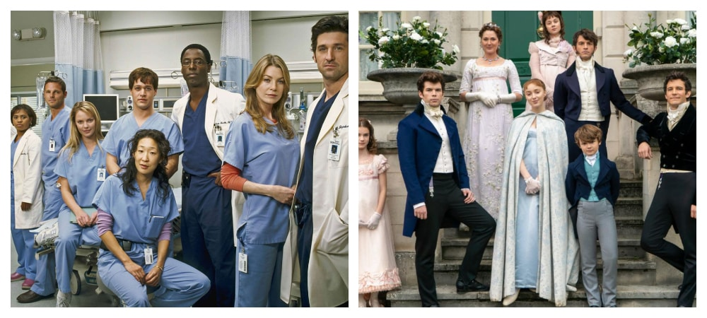 Grey's Anatomy et La Chronique des Bridgerton ont des points communs