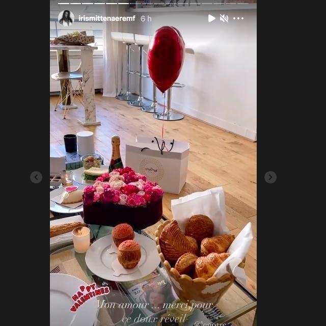 Iris Mittenaere: son chéri Diego lui fait une surprise pour la Saint-Valentin !