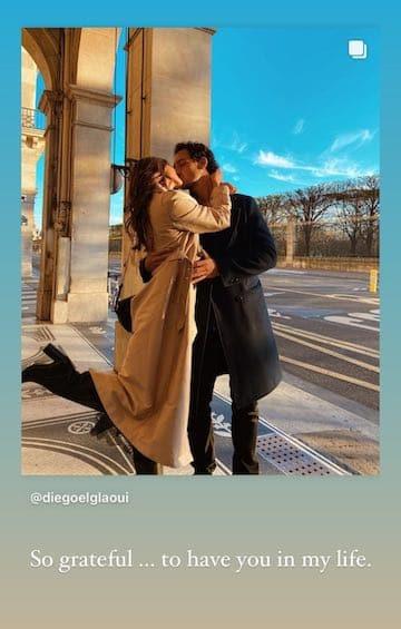 Iris Mittenaere fait une déclaration d'amour adorable à Diego !