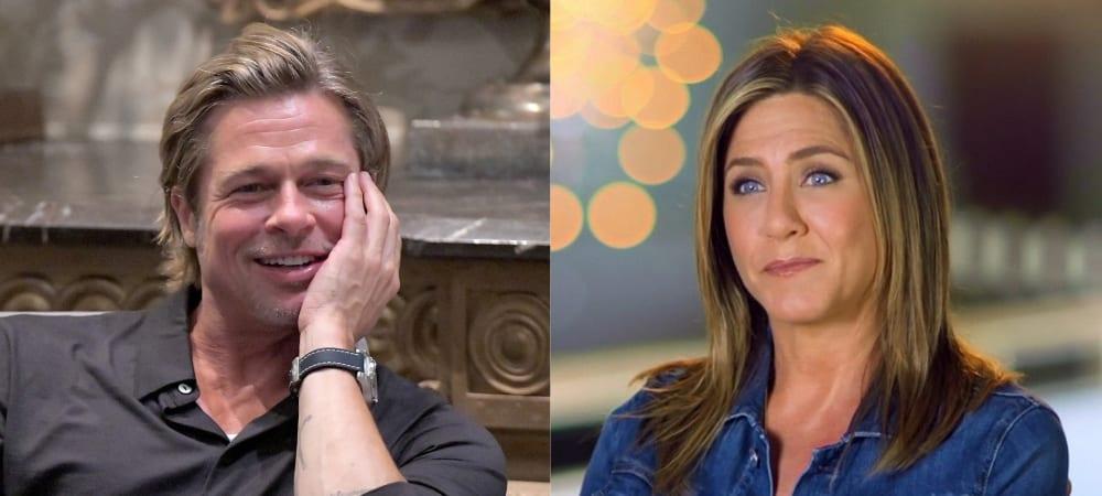 Jennifer Aniston- qu'a-t-elle pensé de Brad Pitt lors de leur rencontre1000