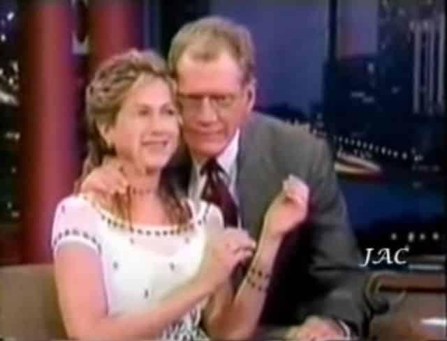Jennifer Aniston: ses fans choqués par l'attitude de David Letterman !