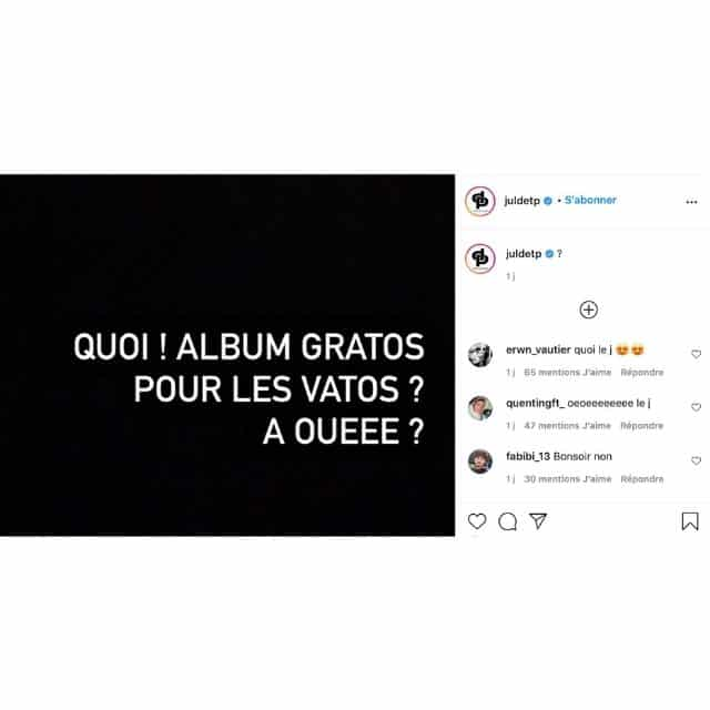 Jul sur le point de sortir un tout nouvel album ?