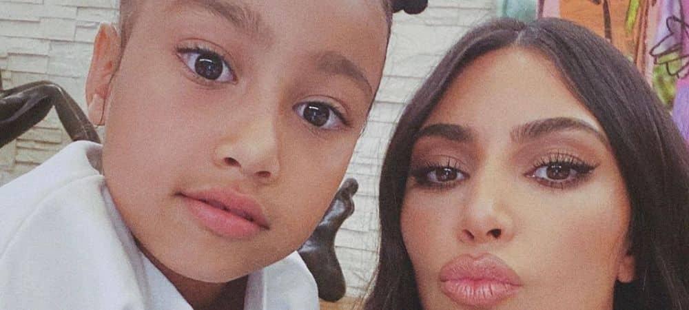 Kim Kardashian défend à fond la créativité de sa fille North West !
