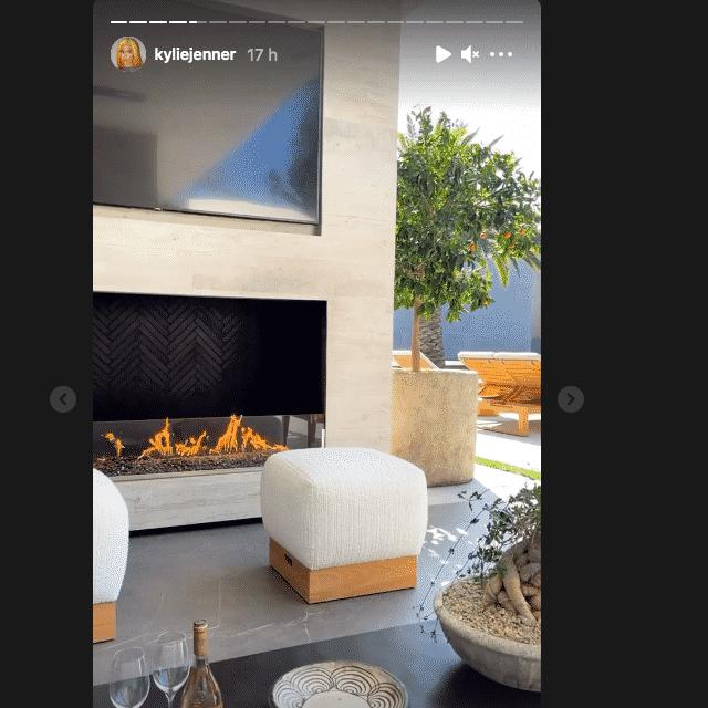 Kylie Jenner dévoile sa terrasse dans sa villa à 36,5 millions de dollars !
