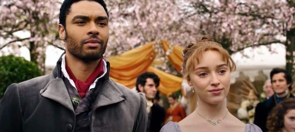 La Chronique des Bridgerton (Netflix): une actrice poignarde sa co-star par accident !