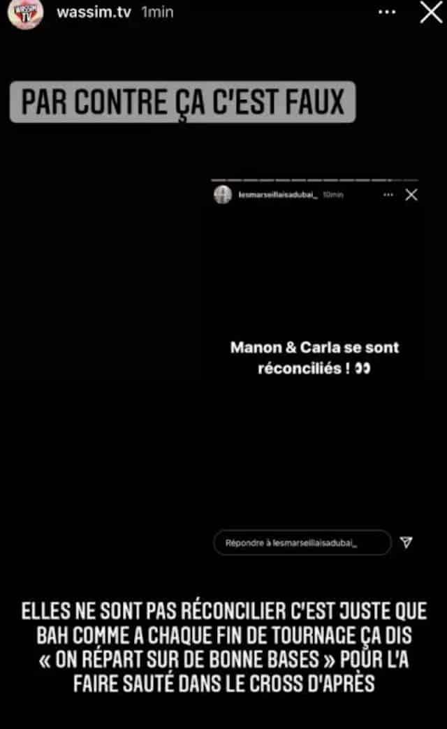 Les Marseillais: Carla Moreau et Manon Marsault enfin réconciliées ?
