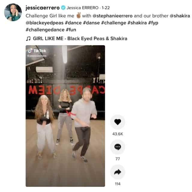 Les Marseillais: Jessica Errero réussit à séduire Shakira sur TikTok !