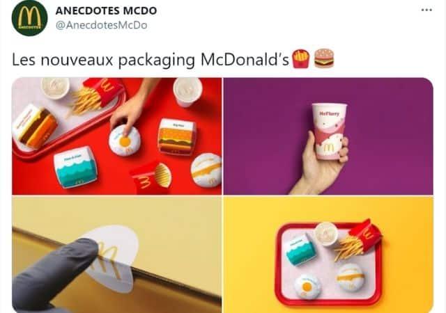 McDonald's opte pour un nouveau packaging minimaliste !