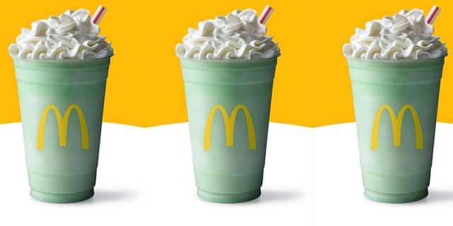 McDonald's signe le grand retour de l'emblématique Shamrock Shake !